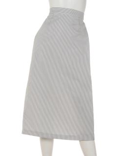 サッカータイトスカート
