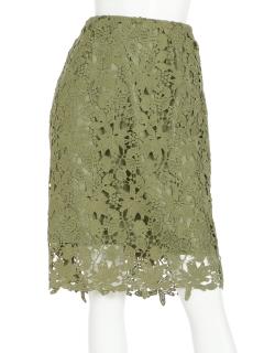 【Doux archives Hamac】総レースタイトスカート