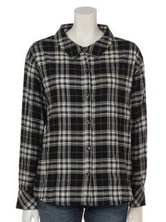 チェック2wayシャツ