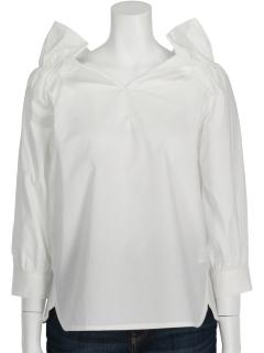 【Hamac】抜き襟前後2WAYシャツ