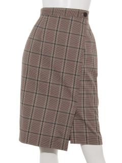 巻き風スカート