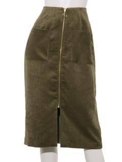 前ジップタイトスカート