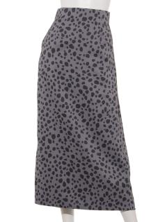ダルメシアンロングタイトスカート