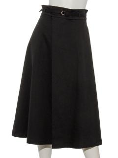 Dカンベルトラップ風フレアースカート
