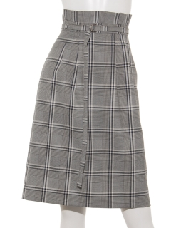 【Hamac】Dカンベルトタイトスカート
