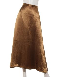 ゴムフレアスカート