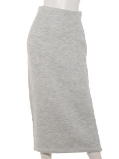 5Gウール混セットアップスカート