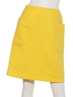 ポンチサイドポケット付スカート