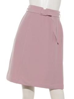 Haベルト付きタイトスカート