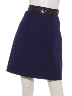 Haゴムベルトタイトスカート