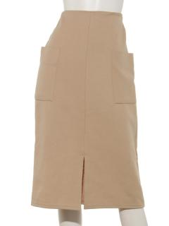 カットタイトスカート