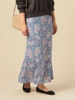 バイアスマーメイドスカート