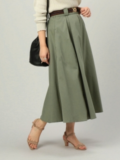【Hamac】BOXタックロングスカート
