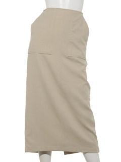 ポケットロングタイトスカート