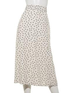 ドットマーメイドスカート