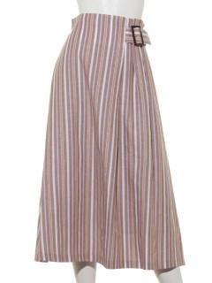 サイドベルトロングスカート