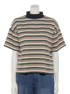 ランダムボーダービッグTシャツ