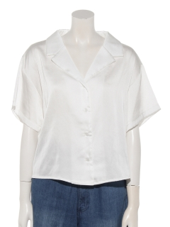 a-半袖開襟シャツ