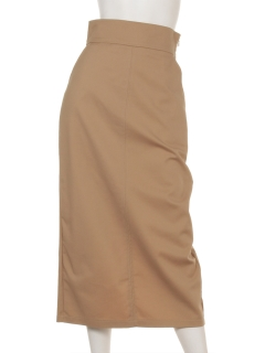 a-ワイドベルトタイトマキシスカート
