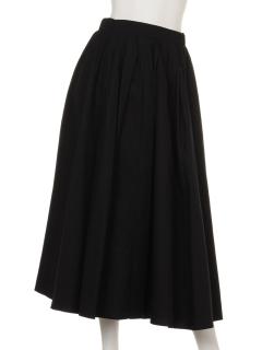 a-タックボリュームフレアスカート