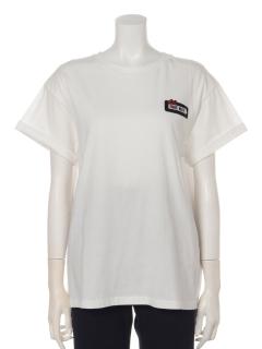 a-ワッペン付きTシャツ