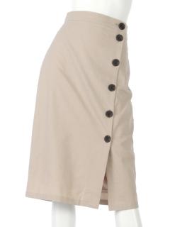ボタンスカート