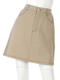 ツイル台形スカート