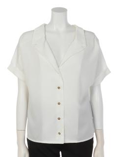 a-ワイドカラー半袖シャツ