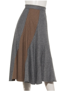 a-コラージュスカート