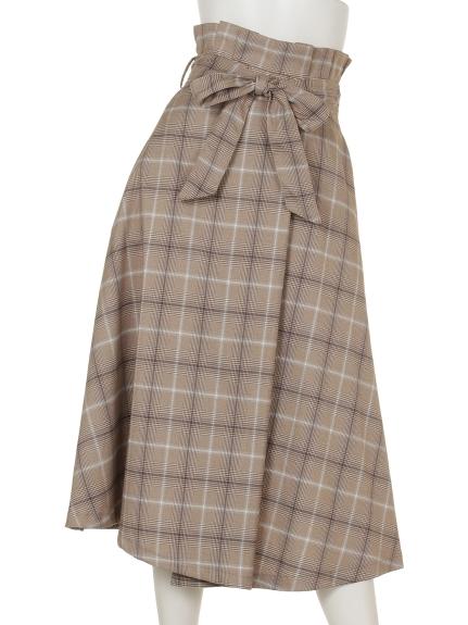 archives (アルシーヴ) ウエストフリルラッピングスカート BEIGE