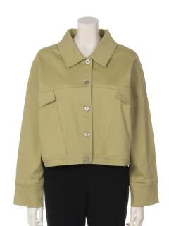 a-オーバーサイズショートジャケット