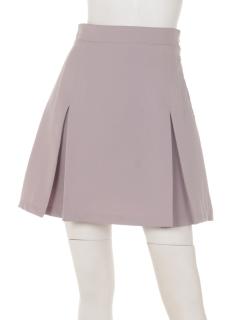 サイドハトメボックスプリーツスカート