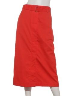 a-ツイルベルト付スカート