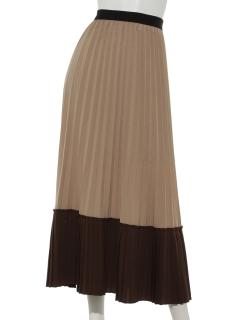プリーツアソートロングスカート