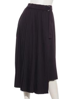 プリーツアソートラップスカート