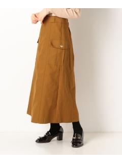 サスペンダーカーゴスカート