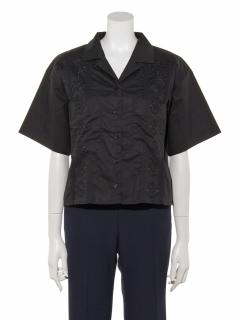 a-刺繍入りキューバシャツ