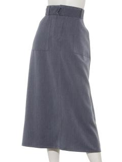 ベルト付ベーカースカート