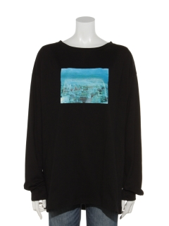 フォトプリントビッグTシャツ