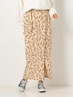 ラップIラインスカート