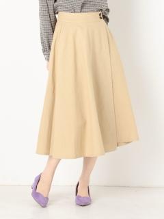 綿ツイル巻きスカート