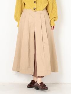 チノ×シフォンプリーツスカート