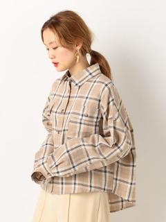 T/CチェックBIGシャツ