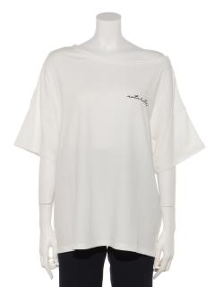 ワンショル刺繍入りTシャツ