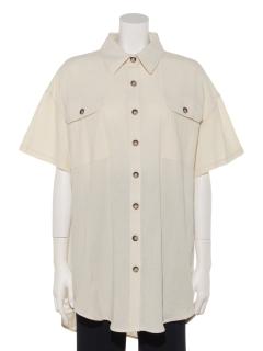 半袖無地チュニックBIGシャツ