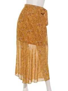 サイドリボンマーメイドスカート