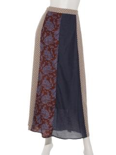 コラージュスカート