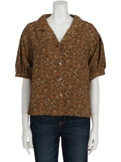 【epimi】E-半袖オープンカラーシャツ