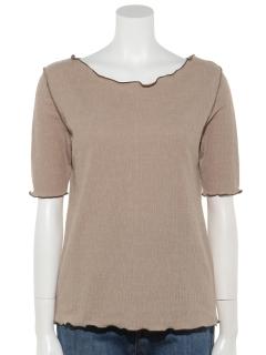 メロー5分袖Tシャツ