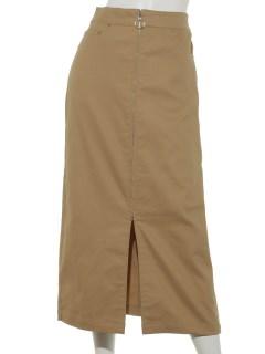 ツイルフープジップスカート
